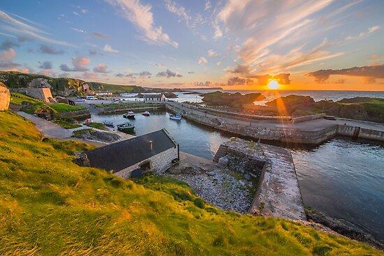 Ballintoy  harbour , County Antrim , Northern Ireland by Zdrojewski
