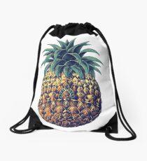 Kunstvolle Ananas (Farbversion) Turnbeutel