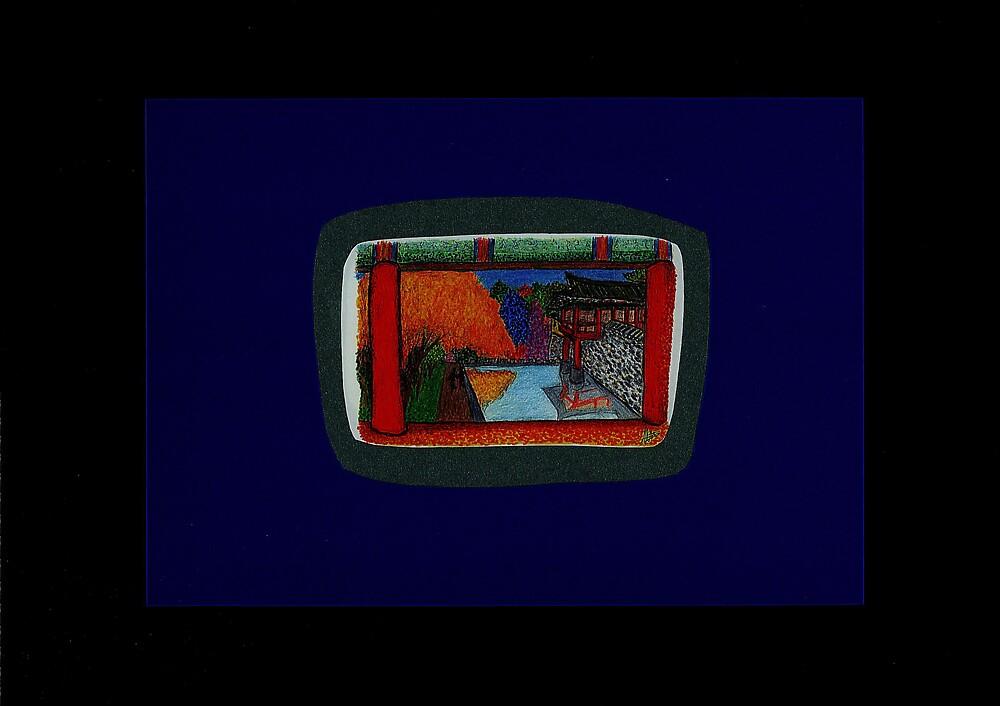 Visions of the inner sanctum-Korea/Japan composite by FloatingWorld