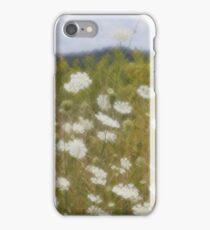 Queen Anne's Lace - Digital Photograph with Lomography Daguerreotype Achromat Art Lens iPhone Case/Skin