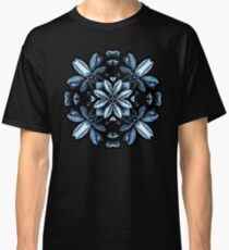 Metallic Leaves Mandala Classic T-Shirt