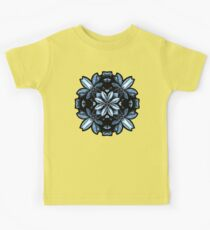 Metallic Leaves Mandala Kids Clothes