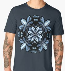 Metallic Leaves Mandala Men's Premium T-Shirt