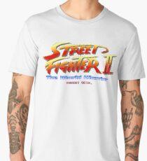 Street Fighter II - Pixel Art Men's Premium T-Shirt