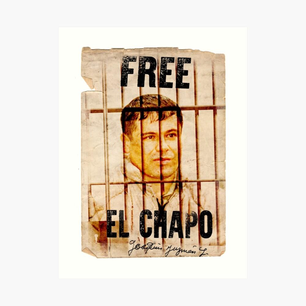 El Chapo Kunstdruck