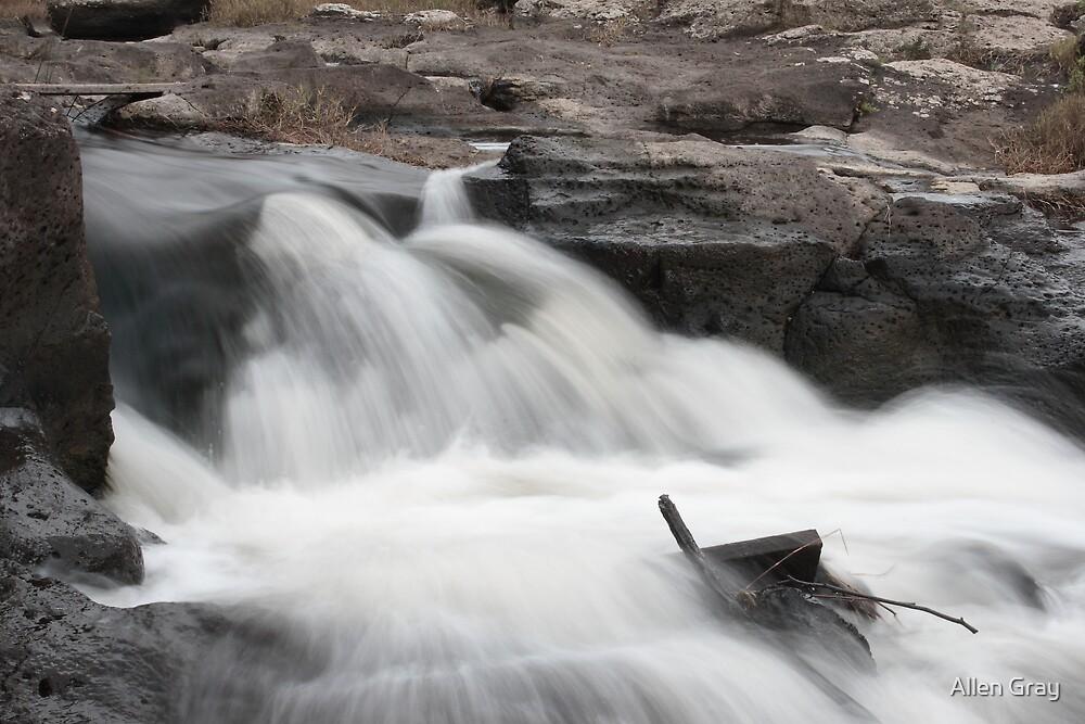 Running Water II by Allen Gray