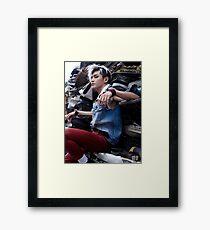 NCT127 FIRETRUCK TAEYONG Framed Print