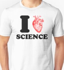I heart science I love science nerd T-Shirt
