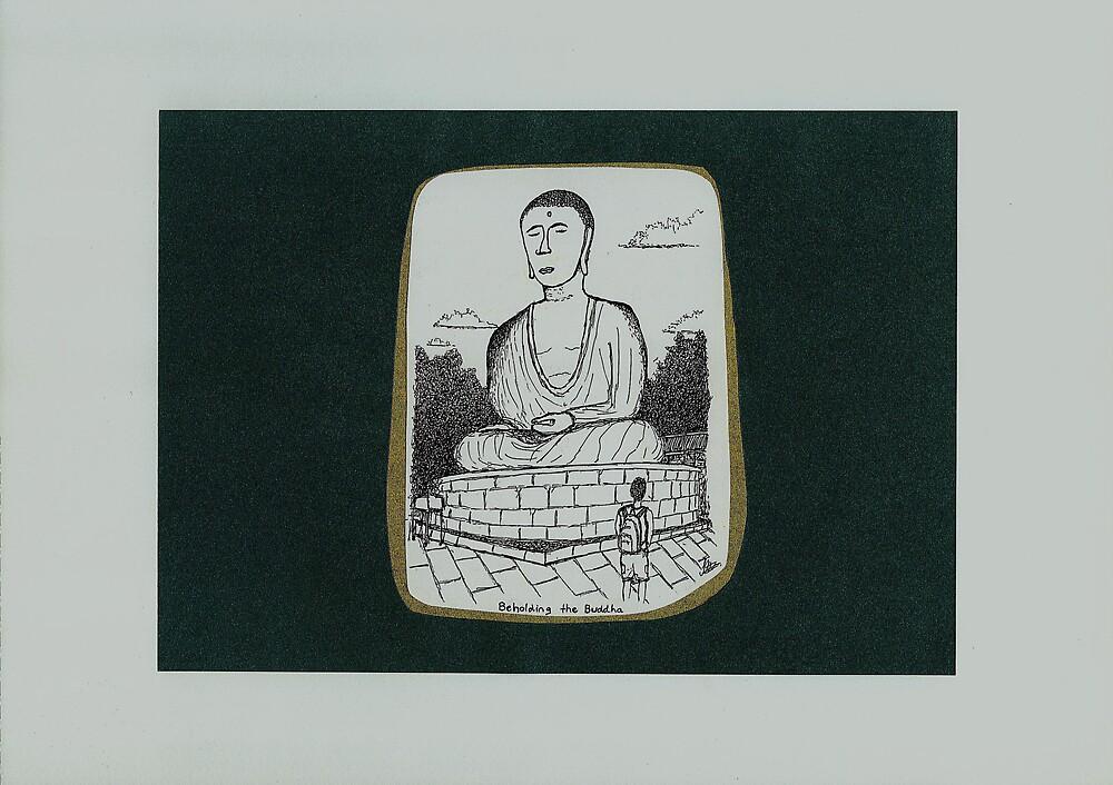 Beholding the Buddha; Kamakura by FloatingWorld