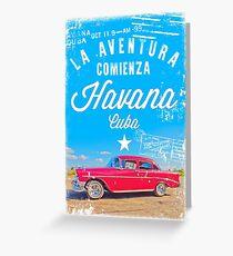 Aventura Havana Greeting Card