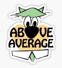 Above Average Sticker