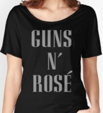 Guns N' Rose' Women's Relaxed Fit T-Shirt