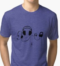 Headphones  Tri-blend T-Shirt