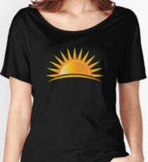 A Sunshine is coming Women's Relaxed Fit T-Shirt