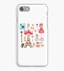 Welcome to Paris (2) iPhone Case/Skin