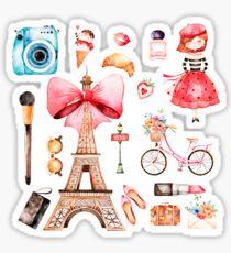Welcome to Paris (2) Sticker
