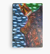 Monster 2 - Abstract Canvas Print