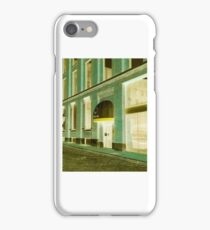 Building Storefront Metro Station iPhone Case/Skin
