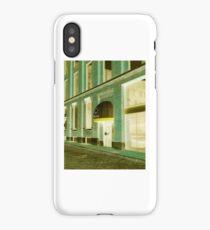 Building Storefront Metro Station iPhone Case/Skin
