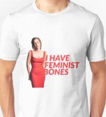 Gillian Anderson: Feminist bones T-Shirt