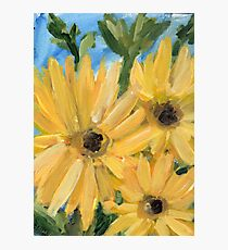 Nana's Flowers Photographic Print
