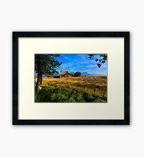 Moulton Barn Jackson Hole Framed Print