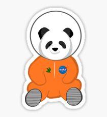 Space Panda Astronaut Sticker