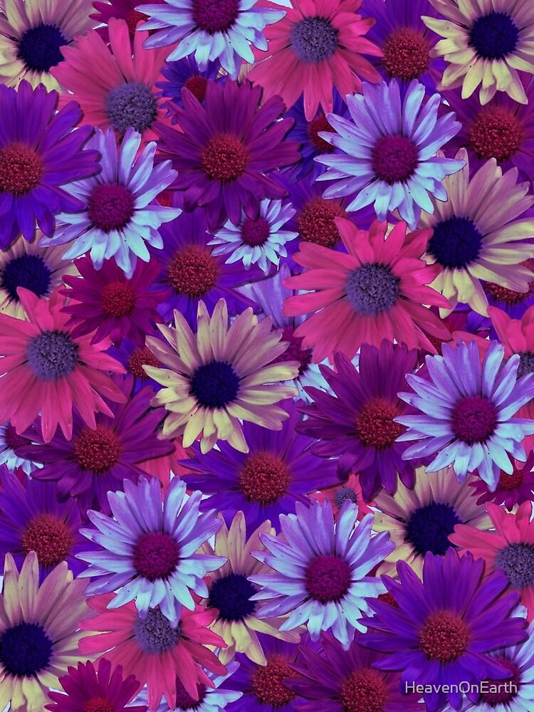 Purple Flower Collage by HeavenOnEarth