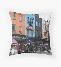 London, Camden market area Throw Pillow