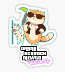Grand Theft Mewto Mice City Sticker