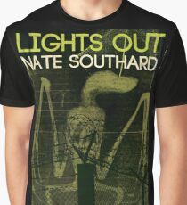 Sinister Grin Press Lights Out Graphic T-Shirt