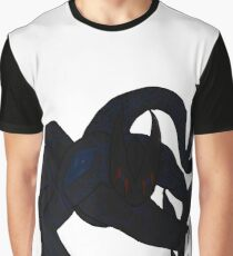 Twin Tailed Demon Graphic T-Shirt