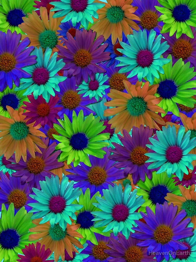 Flower Collage by HeavenOnEarth
