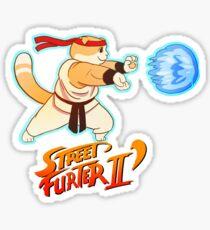 Street Furghter Sticker