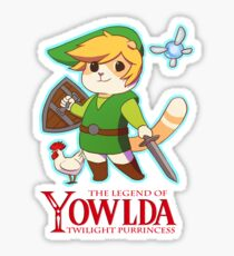 Yowlda  Sticker