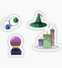 Witch Set Sticker