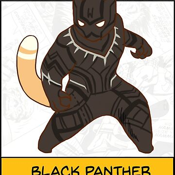Black Panther by derlaine