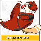 Deadpurr by derlaine