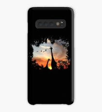 Wild African Sunset Case/Skin for Samsung Galaxy