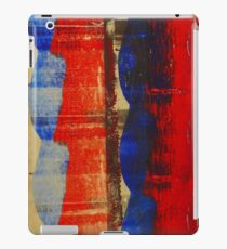 RED MEETS BLUE 2 iPad Case/Skin