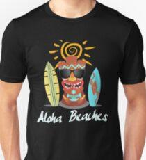 Aloha Beaches Hawaii Party T-Shirt