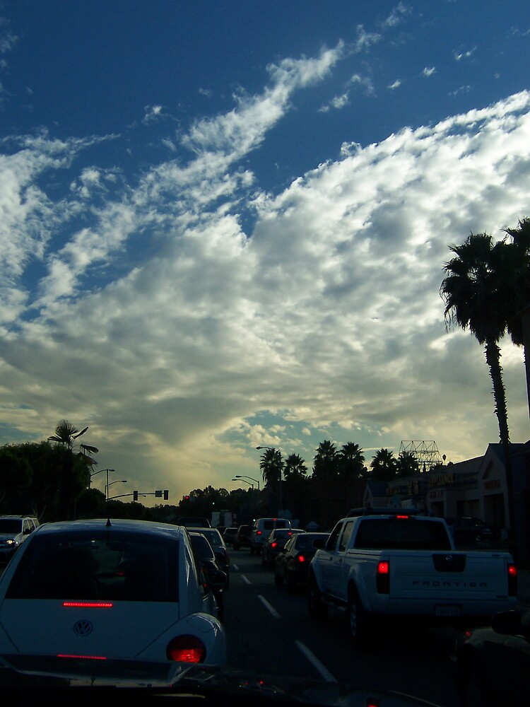 Afternoon Sky by alexiskins