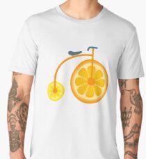 Bicytrus Funny Orange Bike Men's Premium T-Shirt