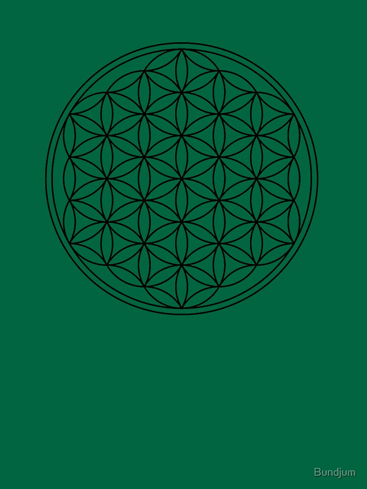 The flower of life by Bundjum