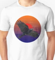 Crow in the Sunset T-Shirt