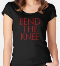Bend The Knee Women's Fitted Scoop T-Shirt