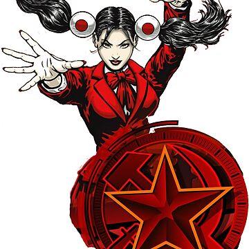 Red Alert Yuriko by Hughbris