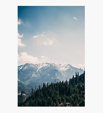 Spring Mountains in Poland Photographic Print