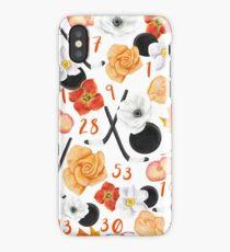 Philadelphia Flyers Floral Design iPhone Case/Skin