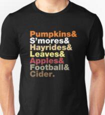 Fall Helvetica T-Shirt